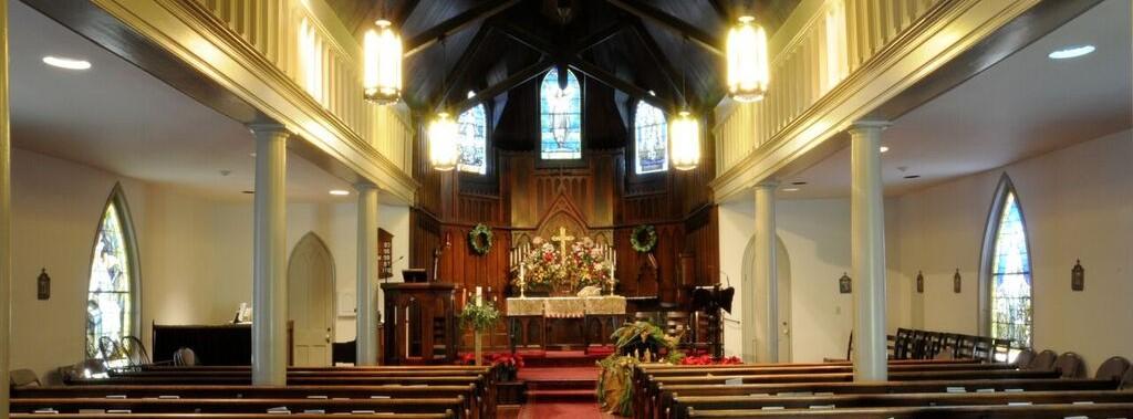 inside of St. Paul's Franklin